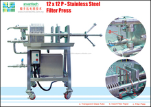 12 x 12 P - Stainless Steel Filter Press