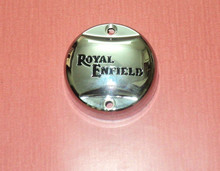 Royal Enfield Contact Break Point Distributor Cap Cover Chrome 350cc 500cc @MGE