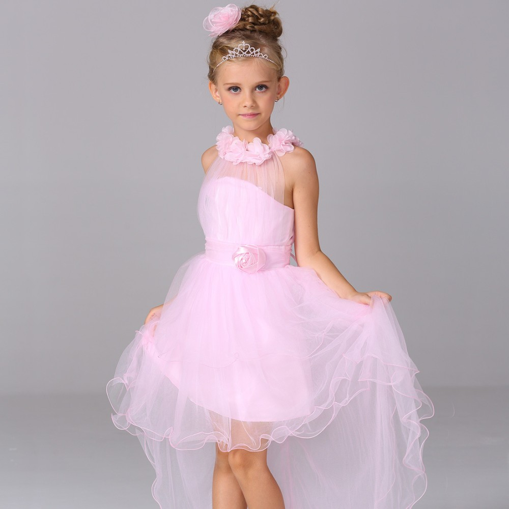 Alibaba Sexy Short Front Long Back Wedding Dress For Girls Of 10 Year Old