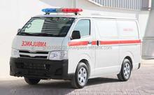 USED AMBULANCE - TOYOTA HIACE 15STR STD TURBO AMBULANCE (LHD 820100 GASOLINE)