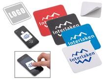 Microfiber sticky screen cleaner/custom sticky cleaner /mobile cleaner