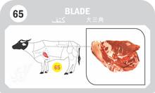 Fore Quarter Halal Frozen Boneless Buffalo Blade Meat