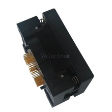 Factory Supply TQFN-p0.4-56P Universal QFN56 TQFN56 7*7mm IC Programming Test Socket Adapter 0.4mm Pitch 56 Pin Top Quality