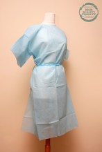 Disposable PP, PE, Non-woven Patient Gown, short sleeves, avaible for children to - MY MEDICAL quality