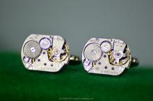Steampunk Watch movement cufflinks