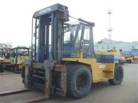 Komatsu 20 ton forklift for sale in China, Komatsu FD200 used lift truck