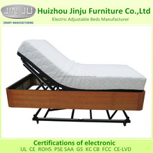 Side Rail Available Wooden HiLo Flex Adjustable Bed