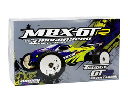 """Mugen MBX-6TR """"Silver Carbon"""" 1/8 Scale 4WD Off Road Competition Truggy Kit MUGE0087"""