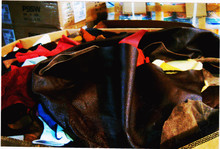 genuine leather,leather scrap,