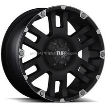 Black 6x5.5 -24 ET T04DK6M24K108 Single Rim