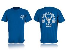 Personalizado moda golds gym t camisa ginásio algodão t-shirt mais recente modelo da camisa t