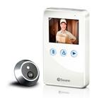 SWANN DOOREYE câmera porta interfone MONITOR de 2.8 '' LCD resistente às intempéries com bateria recarregável