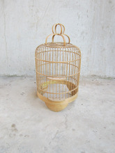 Outdoor hanging bamboo bird cage/Bamboo bird cage for Home Decor