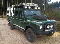 USED CARS - LAND ROVER DEFENDER 130 TD5 CREW CAB (LHD 5024)