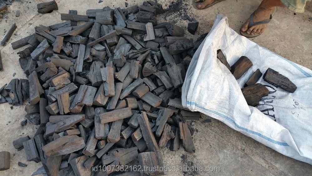 Lump natural mangrove hardwood charcoal