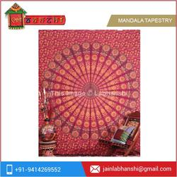 Traditional Antique Wall Hanging Mandala Tapestry for Home Decor