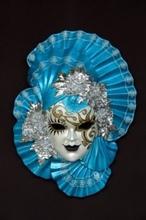 venetian mask Alba Azzurra