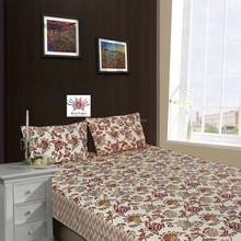 indian fashionable flowers printed European Union export design cotton bedsheet