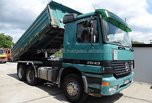 USED TRUCKS - ACTROS 2643 6X4 TIPPER (LHD 4951)