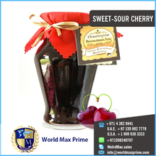 Preserved Sweet Sour Cherries Fruit with Standard Export Quality Packing