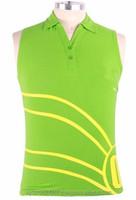 Custom Sleeveless Body T Shirt Luminous Green