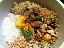 Vietnam mixed dried vegetables