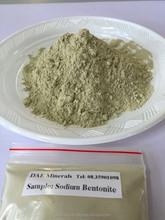 Bentonita de sodio polvo y Granular forma