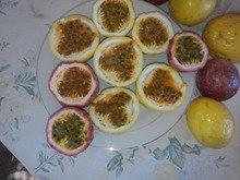 Fresh Dominican Passion fruit pulp