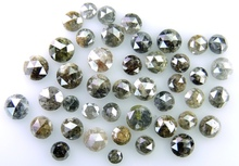 Rose cut Loose Diamond mix color Natural diamond low price 2.00 MM to 5.00 MM