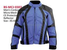 Men`s motorbike cordura jacket, motorcycle biker jacket racing wear
