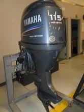 FREE SHIPPING FOR USED YA MA HA 115 HP 4 STROKE OUT BOARD MOTOR