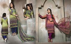 Fancy Woollen Digital Printed Salwar Suit