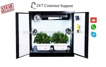 Hydroponic Indoor Gardening System Home Growing Cabinet/Locker Tomato grow room