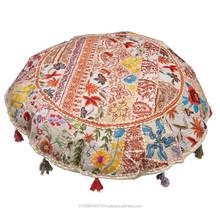 Indian Meditation cushions Indian Round Floor cushions Indian Ethnic Round Meditation cushion covers