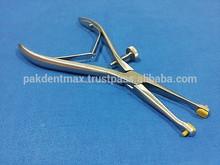 """Dental pinzas corona remover alicates quitar 6"""" w/reemplazables consejos de silicona/de alta calidad de instrumentos"""