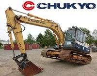 CRAWLER EXCAVATOR USED KOMATSU PC100 -5 JAPANESE CONSTRUCTION MACHINERY FOR SALE
