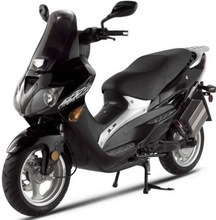 New X-Treme Scooters XM-3500Li Lithium Powered Electric Moped Motorcycle