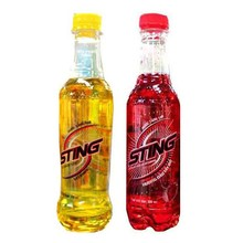 sting energy drink Not a single, because almost all energy drinks contains huge amount of sugar  and some instant energizer like caffeine, taurine sugar is a bad source of energy .