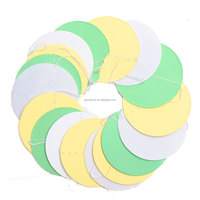 Chain Decoration Round Shape Wedding Party Baby Kids New Fun Colorful Hanging Paper Garlands Flora String