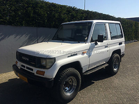 USED CARS - TOYOTA LAND CRUISER LJ 70 TD PICK UP (LHD 6405 DIESEL)