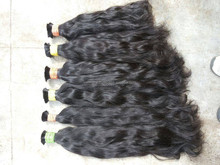 Soft Wavy hair human hair extension remy high quality 100% virgin hair top grade 7AA