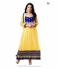 Designer Bollywood Anarkali Suit Replica