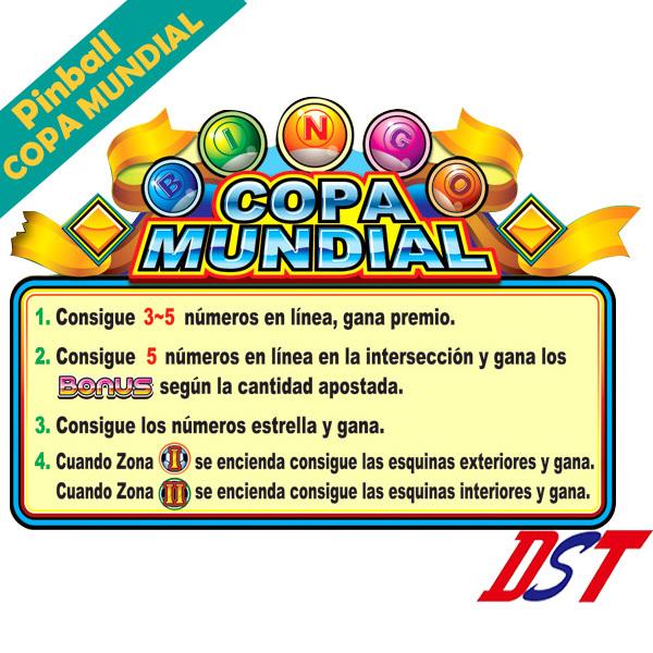 Pinball COPA MUNDIAL