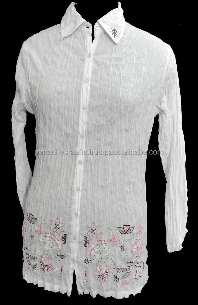Para mujer camisa de vestir 2016