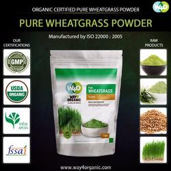 First Grade Natural WheatGrass Powder Exporter
