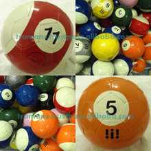 Billiard Footballs Soccer All Sizes 16 Balls Colored Set Poolballs