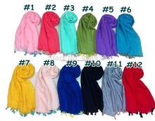 high quality viscose blended scarf shawl pashmina