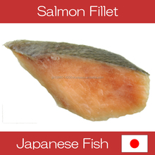 Delicious Hokkaido frozen salmon fillets for import export seafood fish