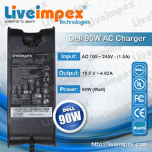 laptop charger 90w Ac for Dell 90W 20V 3.5A with DELL special PIN for laptop adapter