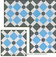Traditional cement tile